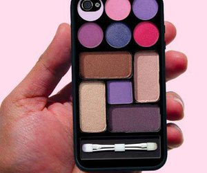 iphone, makeup, and make up image