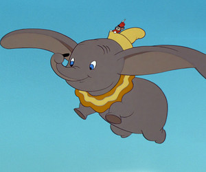 dumbo, fly, and disney image