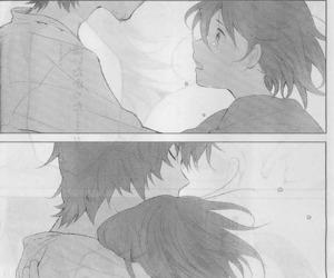 love, manga, and wolf children image