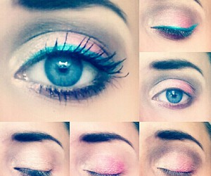 makeup, summer, and tutorial image