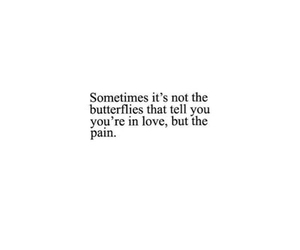 pain, quotes, and love image