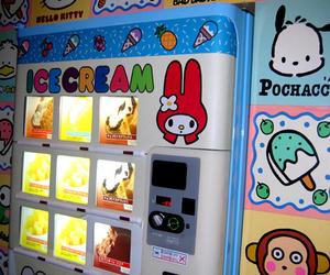 ice cream, kawaii, and sanrio image