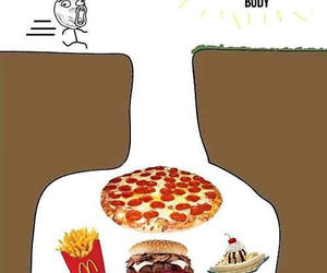 summer, food, and funny image