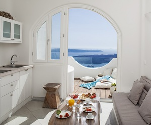 summer, Greece, and interior image