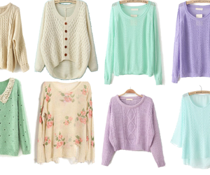 sweater, clothes, and outfit image