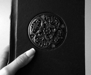black and white, diary, and journal image