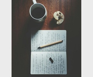 coffe, vintage, and write image
