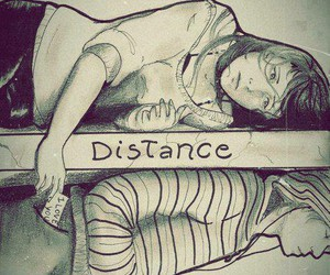 distance, love, and boy image