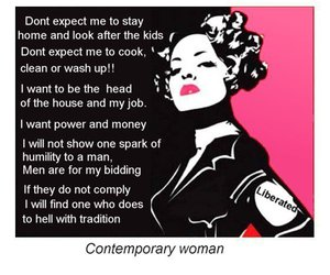 contemporary, woman, and liberated image