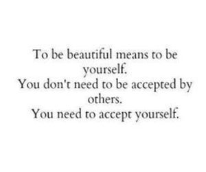quotes, beautiful, and yourself image