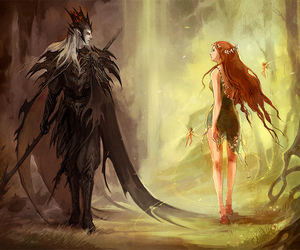 hades, persephone, and fantasy image