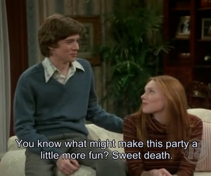 eric forman, laura prepon, and that 70s show image