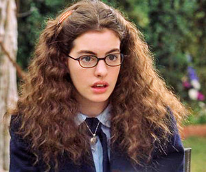 Anne Hathaway, princess diaries, and shut up image