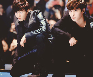 exo, suho, and lay image