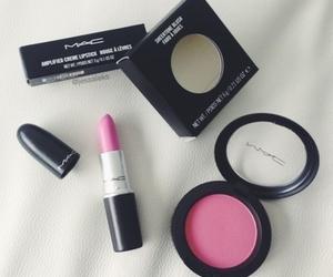 lipstick, mac, and blush image