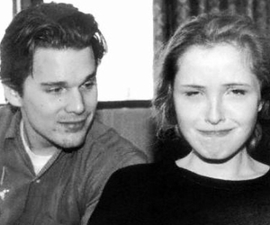 before sunrise, julie delpy, and ethan hawke image