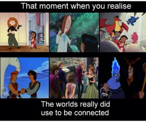 aladdin, connected, and disney image