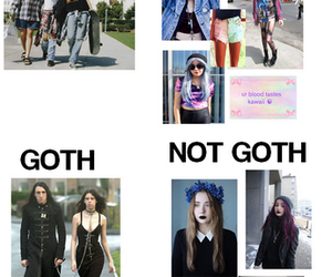 grunge, goth, and style image