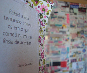 flowers, frases, and clarice lispector image