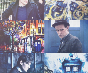blue, doctor who, and fav image