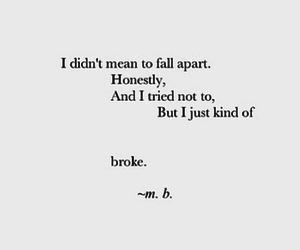 alone, tried, and broken image