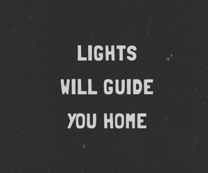 coldplay, home, and lights image
