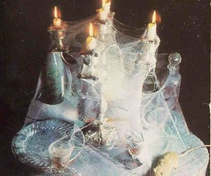 candle, flame, and mouse image