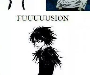 anime, deathnote, and funny image