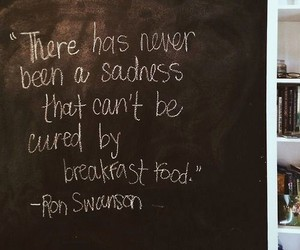 breakfast, funny, and quotes image