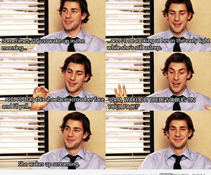 the office, funny, and jim image