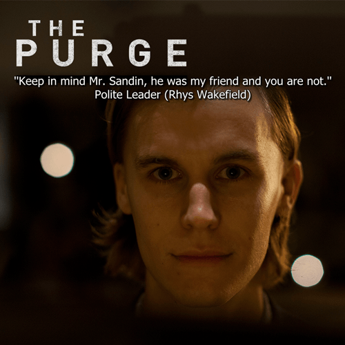 Quotes From The Purge Gorgeous Quotes From The Purge Unique Quotes From The Purge Alexdapiata
