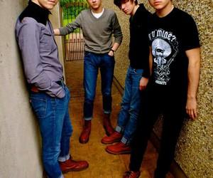 band, boy, and music image