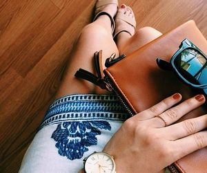 accessories, clutch, and nails image