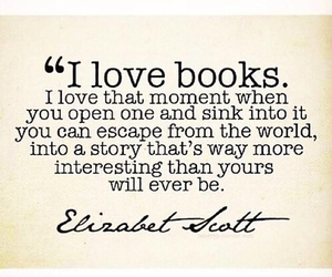 book, love, and quote image