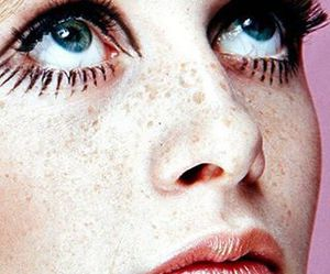 twiggy, indie, and make up image