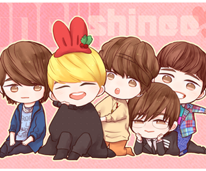 fanart, SHINee, and cute image