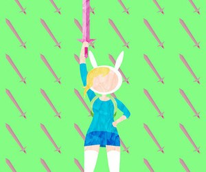 adventure time, drawing, and fionna image