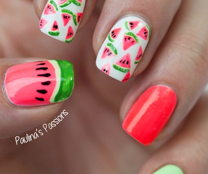 design, watermelon, and green image