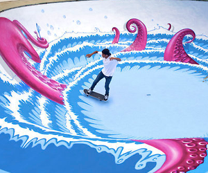 skate, art, and cool image
