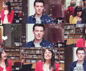 glee, the only exception, and rachel berry image