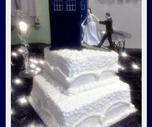 doctor who, food, and tardis image