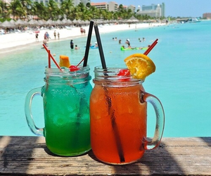 summer, luxury, and drinks image