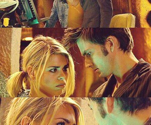 doctor who, david tennant, and rose tyler image