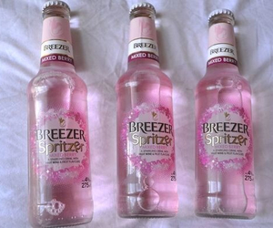 pink, drink, and grunge image