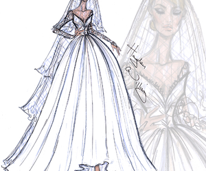 hayden williams, dress, and wedding image