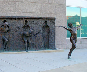 freedom, art, and sculpture image