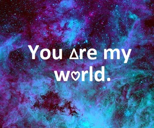 world, galaxy, and you image