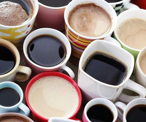cafe, cofee, and milk image