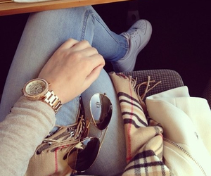 Burberry, fashion, and watch image