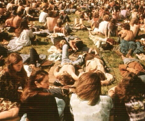 people, hippie, and festival image